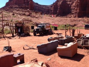 At the MGME fest in Moab